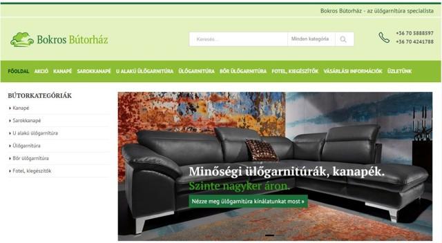 A Bokros Bútorház egy kifejezett ülőgarnitúra specialista.