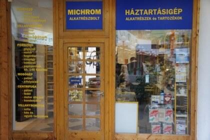 MICROHM alkatrészbolt | bejárati portál