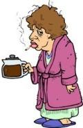 A nagymama mégis él
