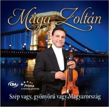 Mága Zoltán hegedű virtuóz saját CD-je borítóján