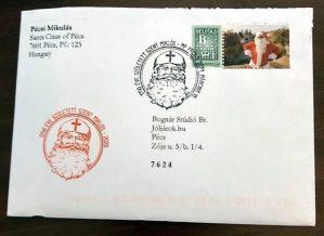 Szent Miklós - Mikulás Pécs levele