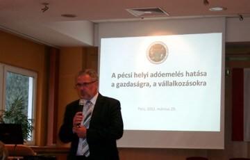 Dr. Síkfői Tamás a Pécs-Baranyai Kereskedelmi és Iparkamara titkára | Tényeket mutat
