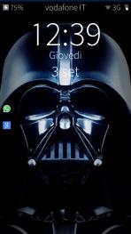La schermata di blocco