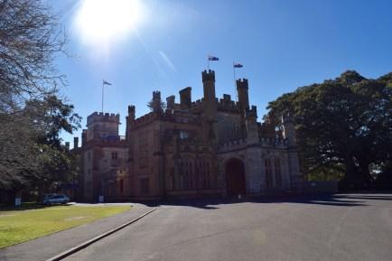 Government House de Nouvelle-Galles du Sud, à Sydney, à l'architecture très anglaise
