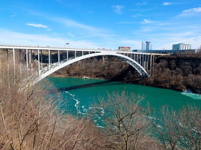 Bridge between Canada and Buffalo, USA