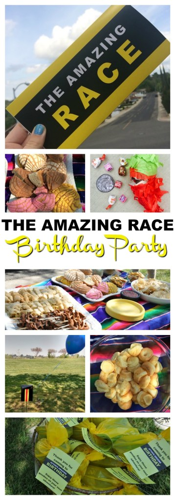 The Amazing Race Birthday Party