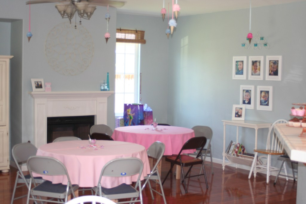 Ice Cream Parlor Birthday Party and Baby Shower