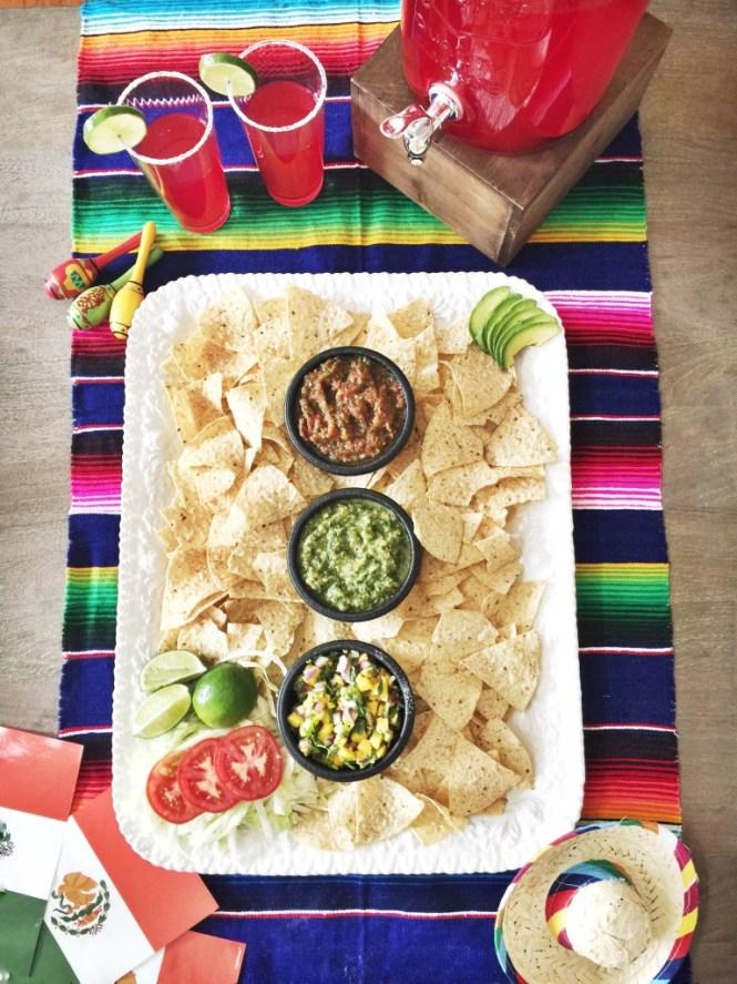 Salsa recipe three ways for Cinco de Mayo