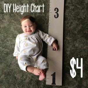 diy height chart