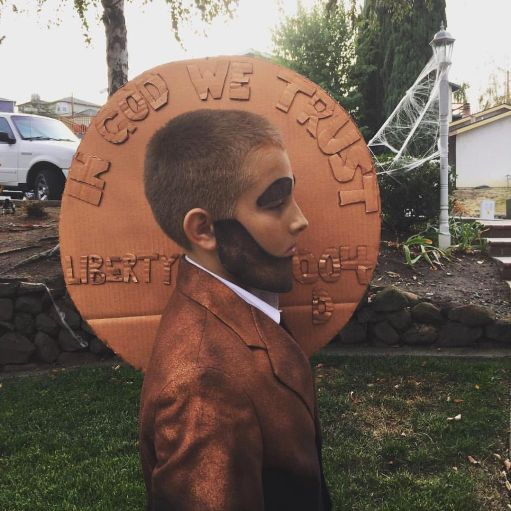 Abraham Penny Costume Jolly and Happy