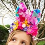 DIY Disney Inspired Bunny Ears Upcycle