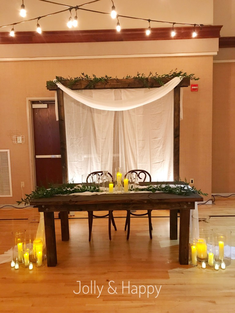 Elegant Nature-Inspired Wedding Reception Jolly and Happy