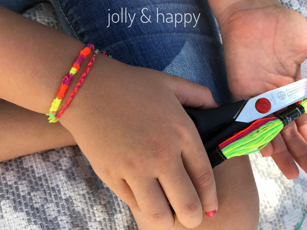 DMC craft thread friendship bracelets and crafts