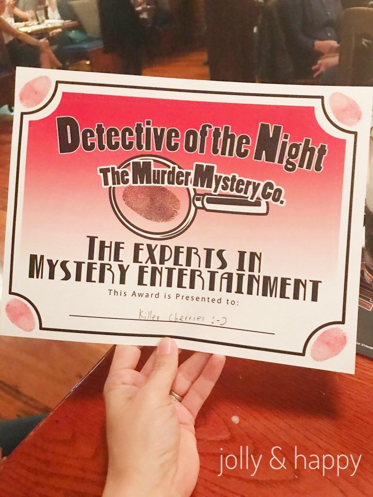 Girls night out Murder Mystery Dinner