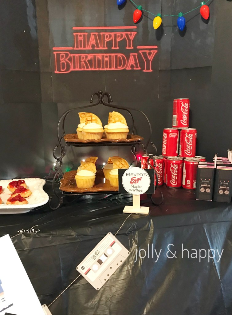 Stranger Things Bday Party Ideas Kara S Party Ideas