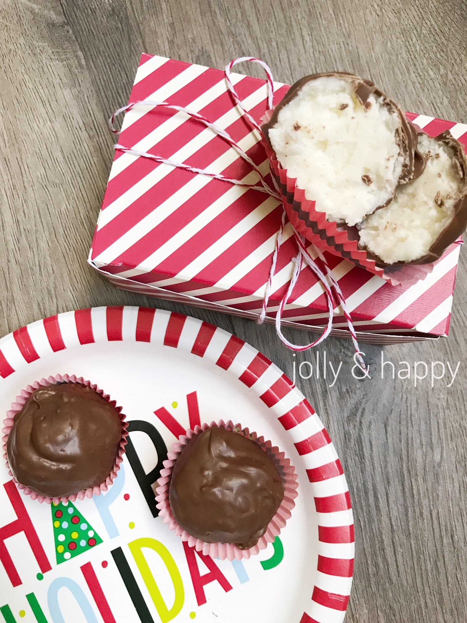 no bake christmas treats - Jolly & Happy