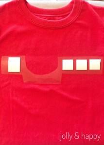 Cricut DIY Valentines Baymax shirt