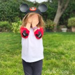 DIY Disney Elbow and Knee Patches