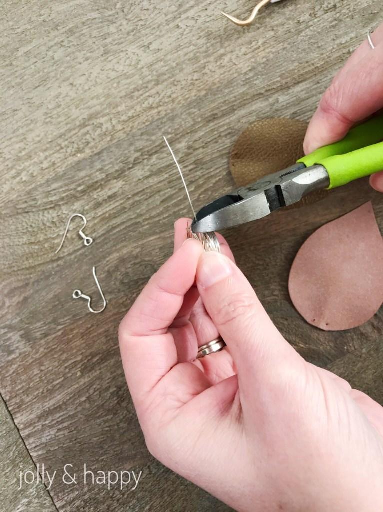 Joanna Gaine's Fixer Upper earrings DIY