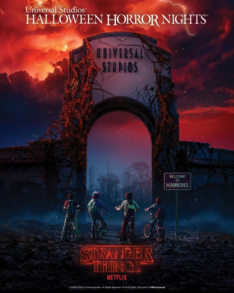 Universal Studios Halloween Horror Nights Stranger Things