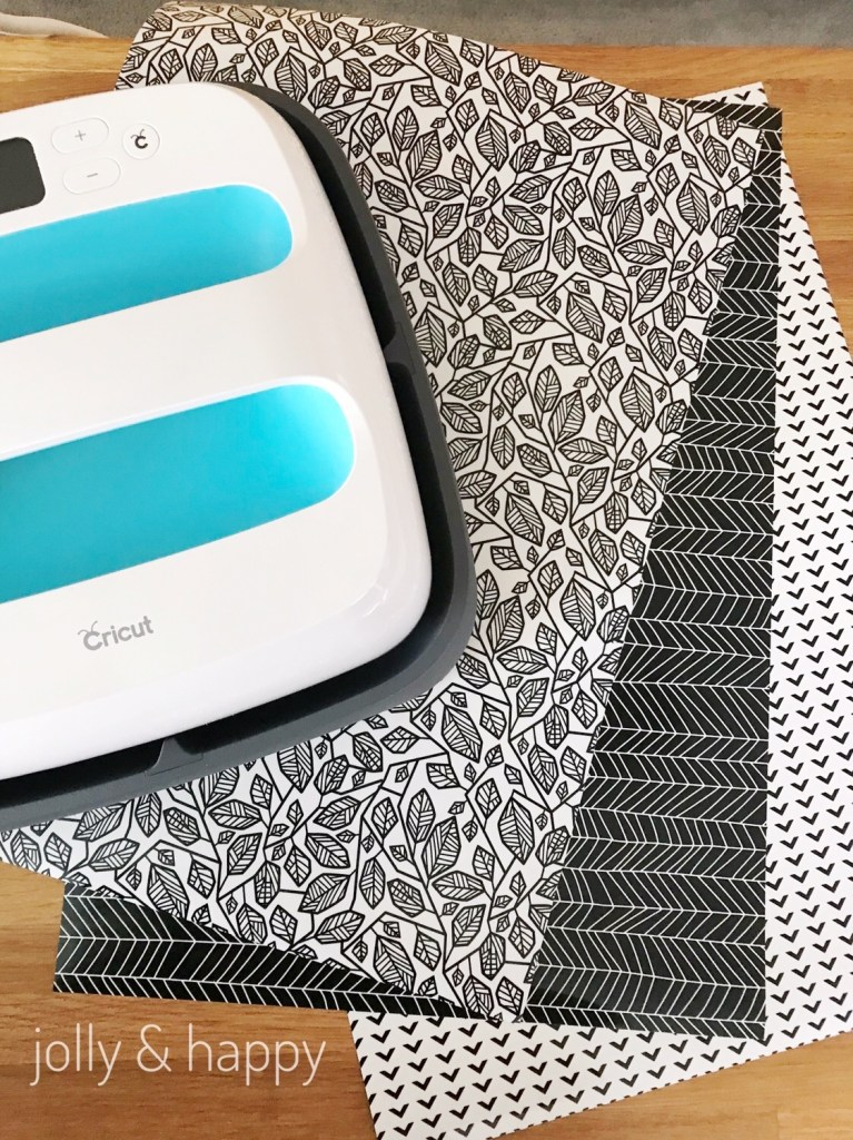 Cricut EasyPress with Patterned Iron On