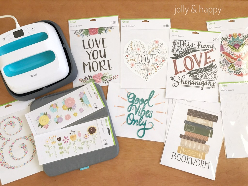 Cricut Iron on designs with EasyPress