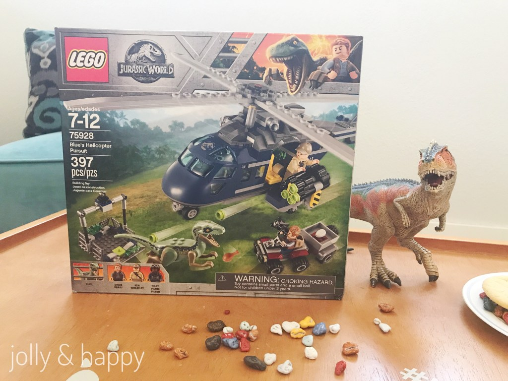Jurassic World Lego World