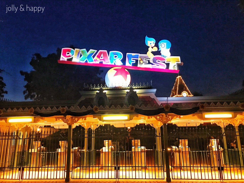 Pixar Fest at Disneyland and Get Away Today deals.