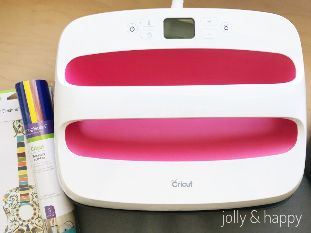 Cricut EasyPress with Cricut Iron-on
