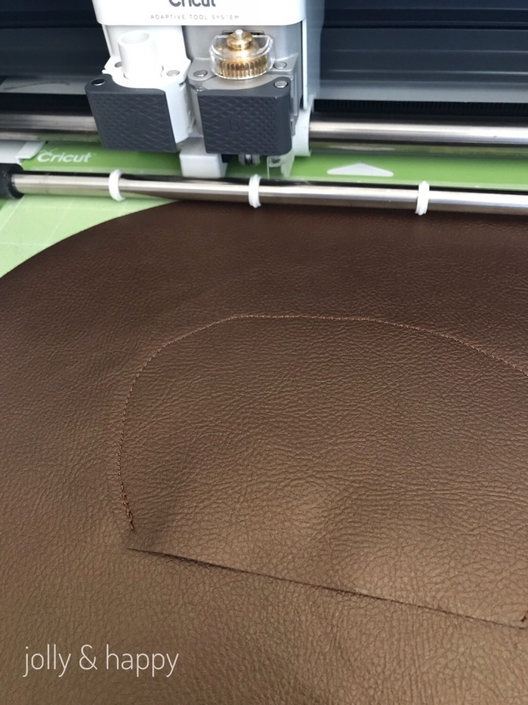 Cricut Faux leather for Halloween costumes