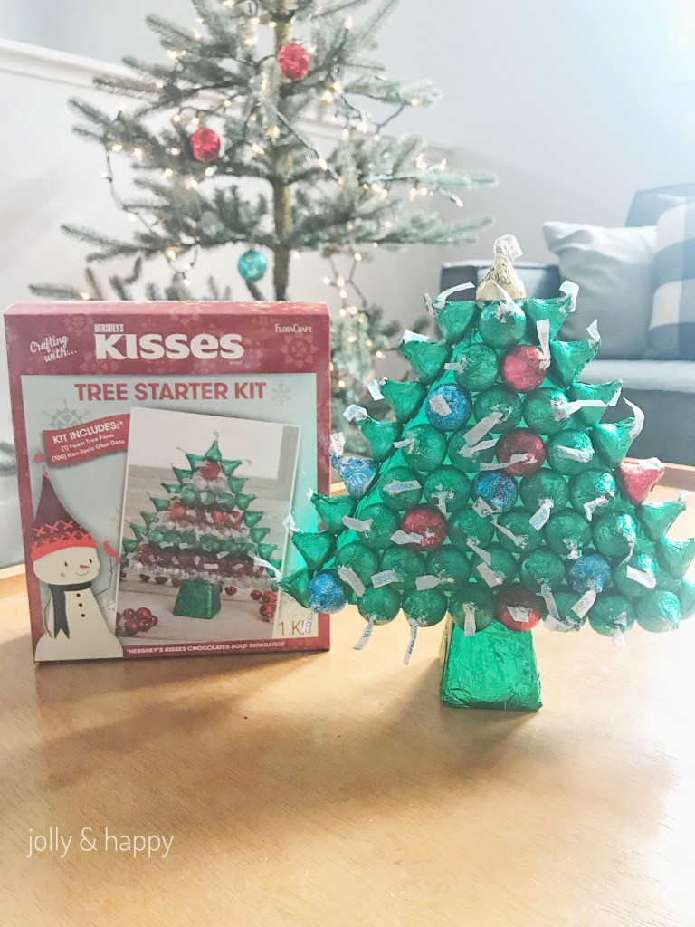 Floracraft Hershey's Kisses tree starter kit