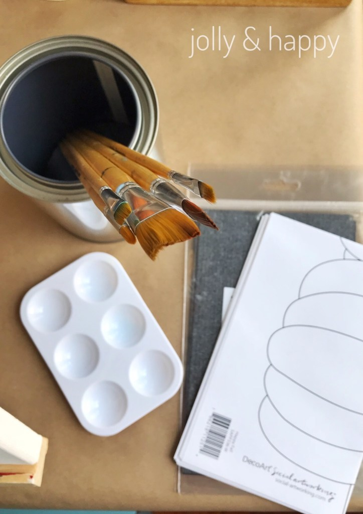 Social ArtWorking supplies everything you need for a paint party