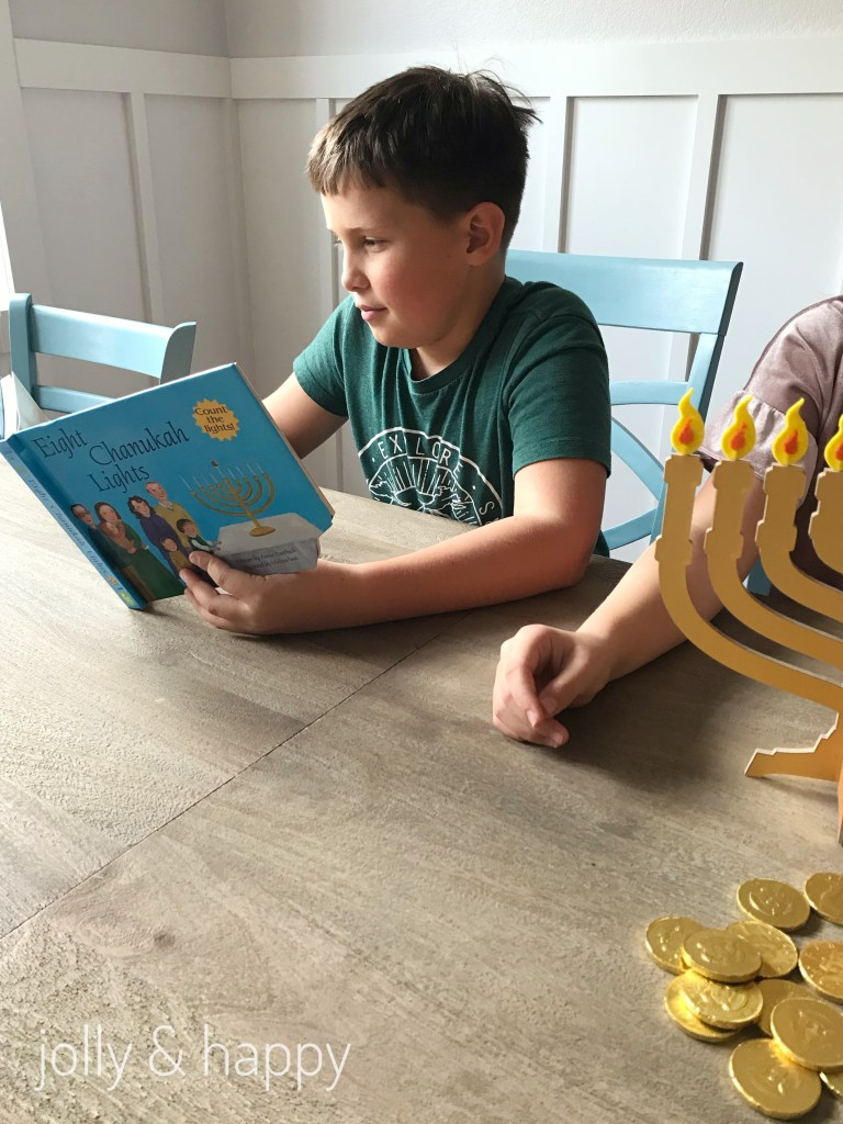 Learn about Hanukkah with this DIY Menorah