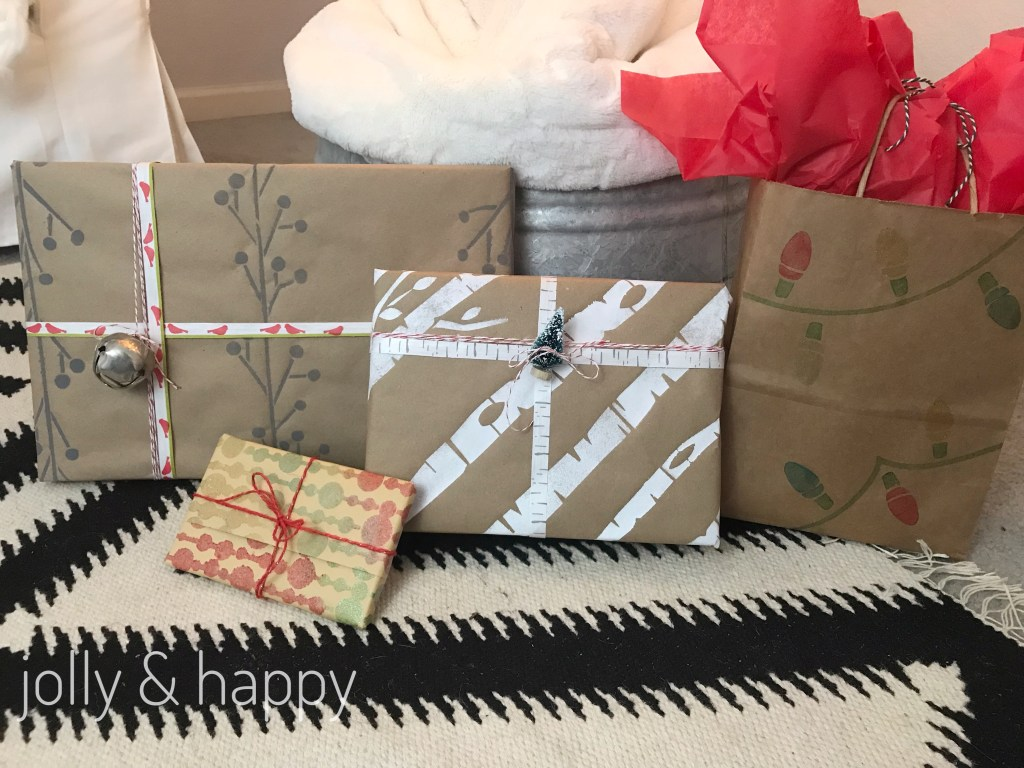 Make your own custom wrapping paper