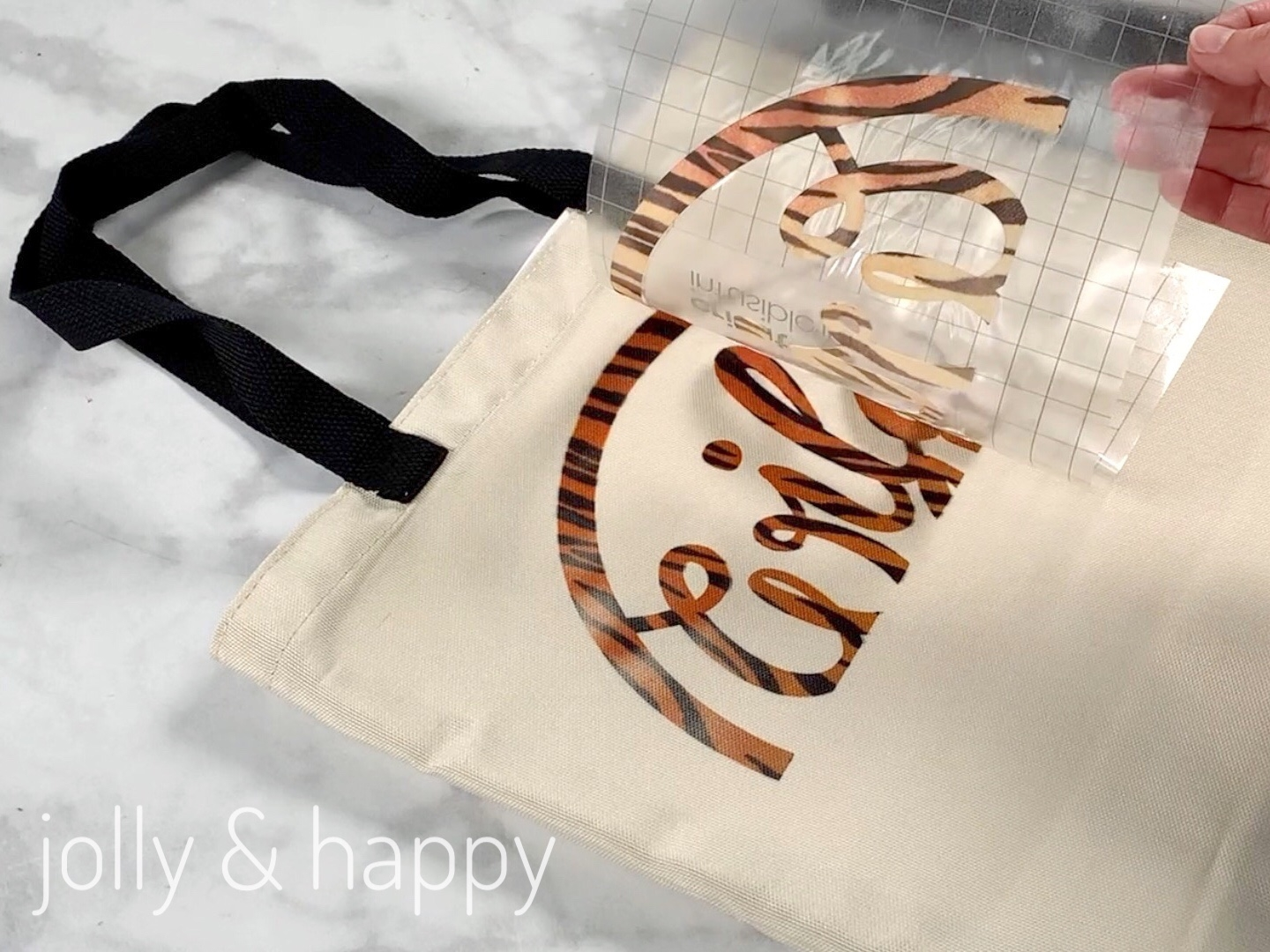 cricut infusible ink tote tutorial