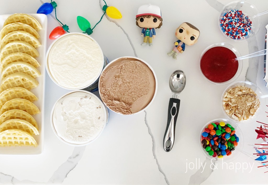 Stranger things Ice Cream Bar