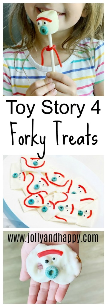 Toy Story 4 Forky treats