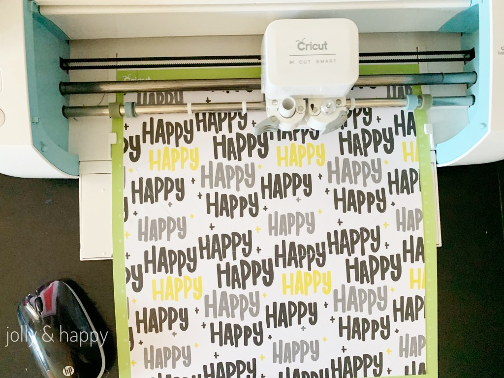 Cricut Happy Deluxe paper