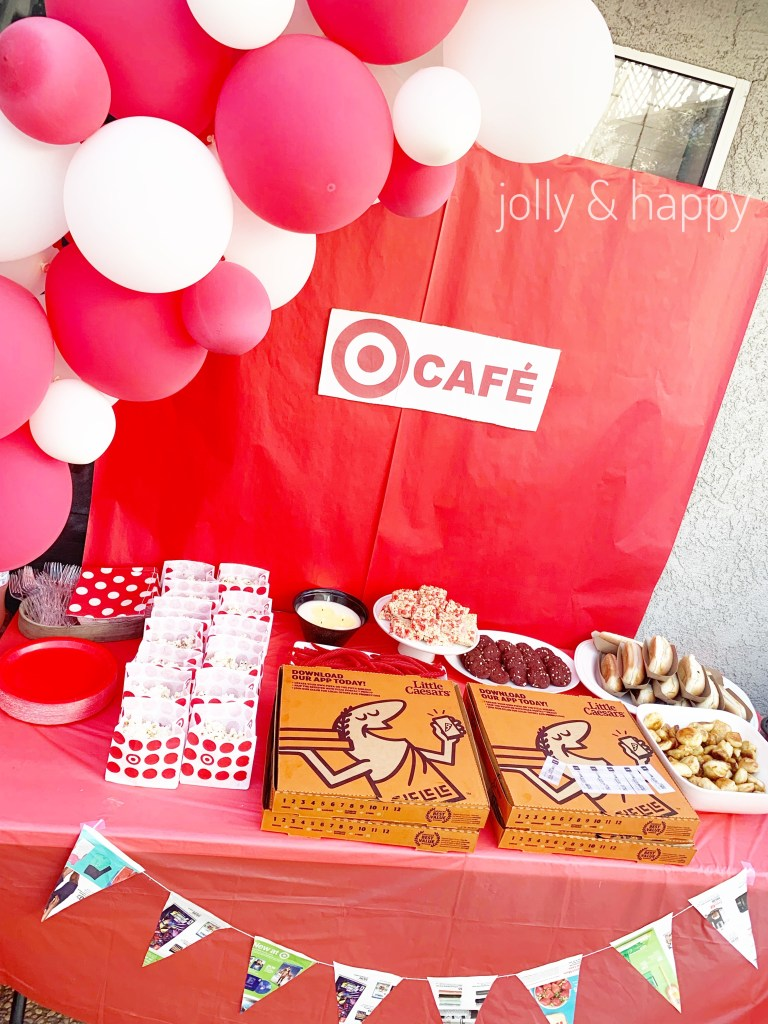target birthday party food