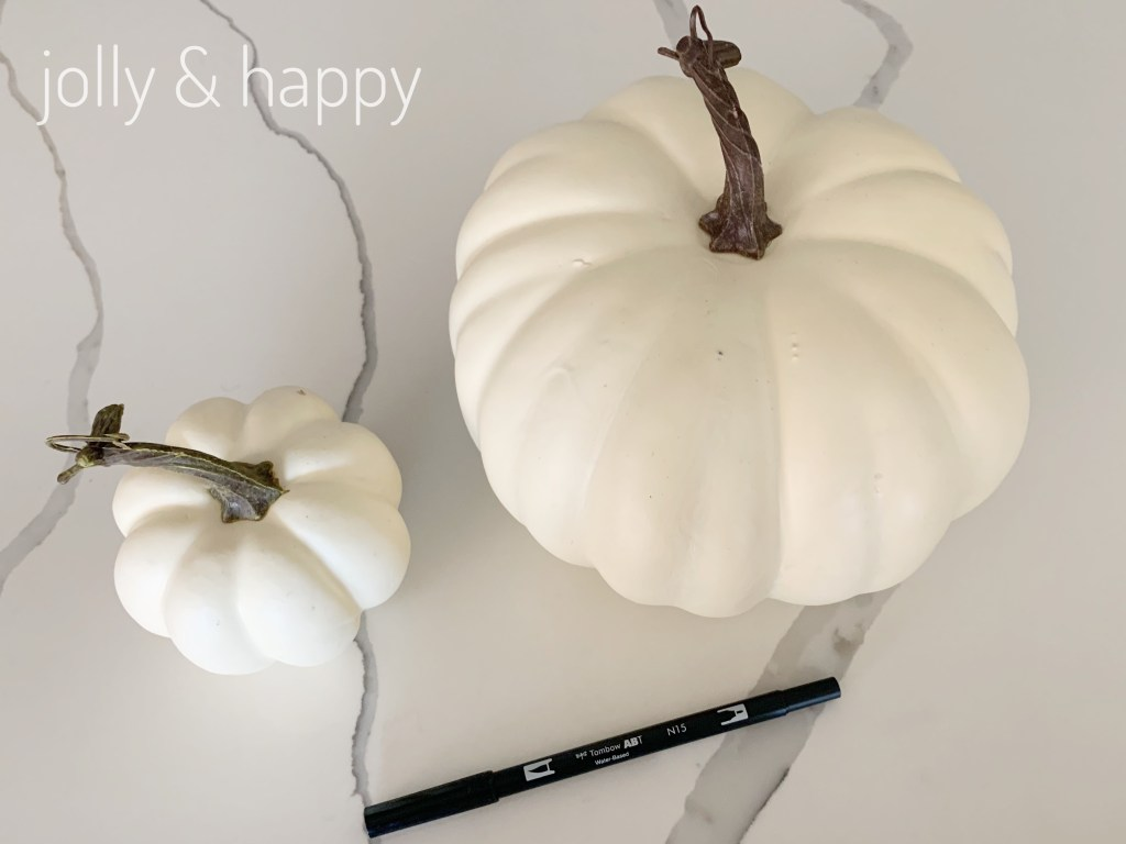 white pumpkins for fall
