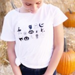 Easy Cute Halloween Shirt with Cricut