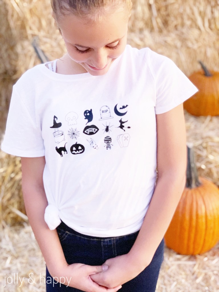 Halloween t-shirt with Cricut