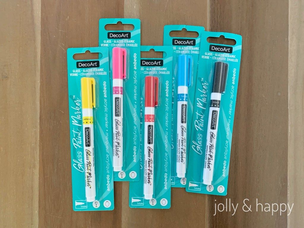 DecoArt Glass Paint Markers now at Michaels