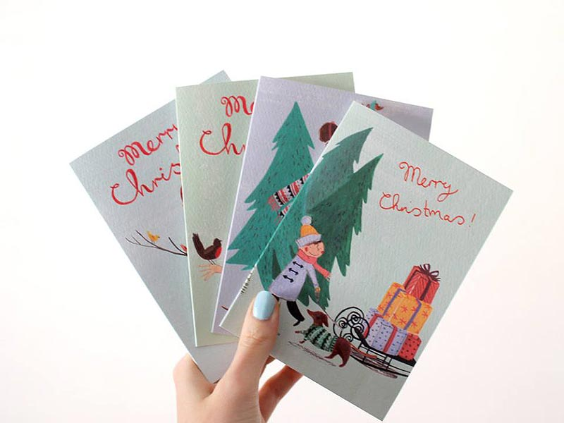 Holiday Cheer Explosion Jolly Edition Illustration And Stationery Made In Baltimore