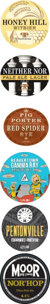 Keg Badges for Burwash
