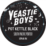 Pot Kettle Black Keg Badge