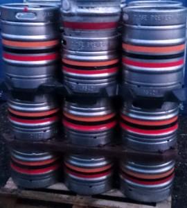 Summer Wine Brewery kegs and casks