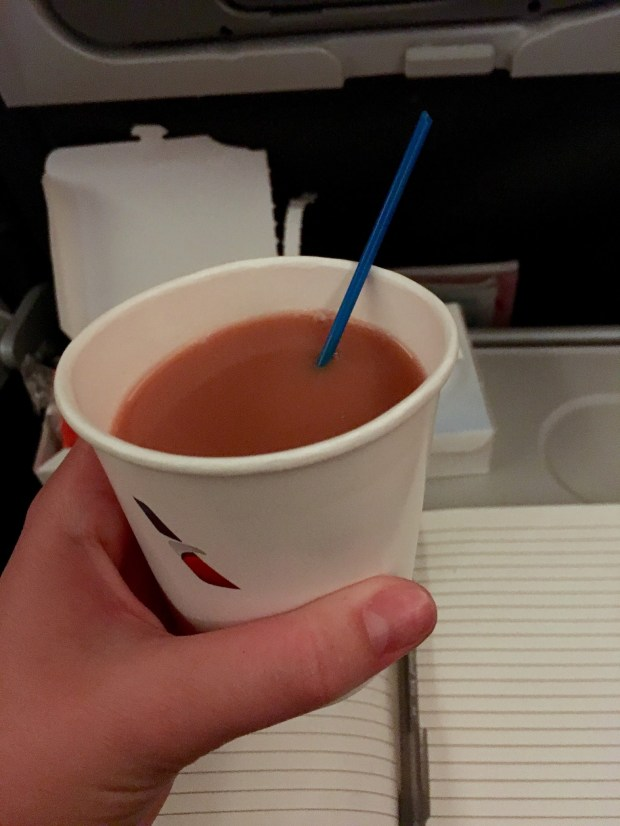 1st British tea (does the plane count?)