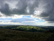 View from climbing the Roaches