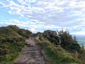 Path up the Roaches